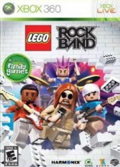 Jaquette de LEGO Rock Band Xbox 360