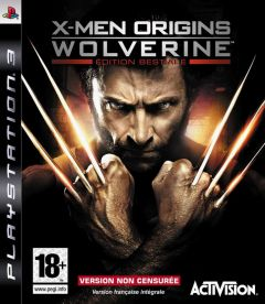 Jaquette de X-Men Origins : Wolverine PlayStation 3