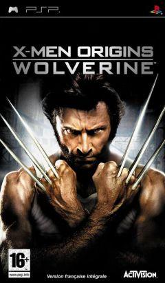 Jaquette de X-Men Origins : Wolverine PSP
