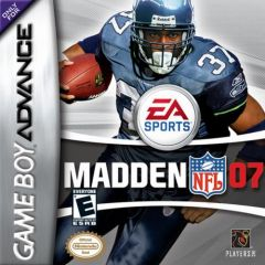 Jaquette de Madden NFL 07 Game Boy Advance
