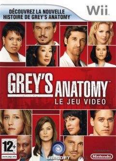 Jaquette de Grey's Anatomy : The Video Game Wii