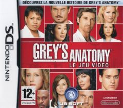 Jaquette de Grey's Anatomy : The Video Game DS