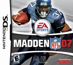 Jaquette de Madden NFL 07 DS