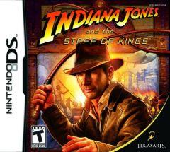 Jaquette de Indiana Jones et le Sceptre des Rois DS