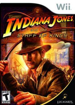 Jaquette de Indiana Jones et le Sceptre des Rois Wii