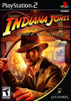 Jaquette de Indiana Jones et le Sceptre des Rois PlayStation 2