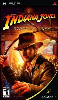 Jaquette de Indiana Jones et le Sceptre des Rois PSP