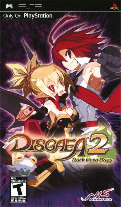 Jaquette de Disgaea 2 : Dark Hero Days PSP
