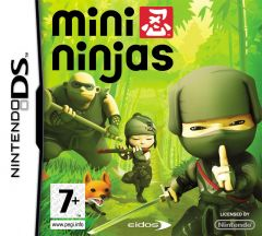Jaquette de Mini Ninjas DS
