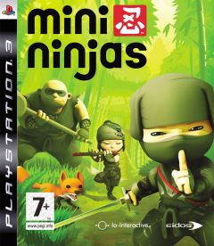 Jaquette de Mini Ninjas PlayStation 3