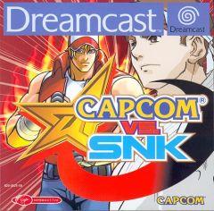 Jaquette de Capcom Vs. SNK Dreamcast