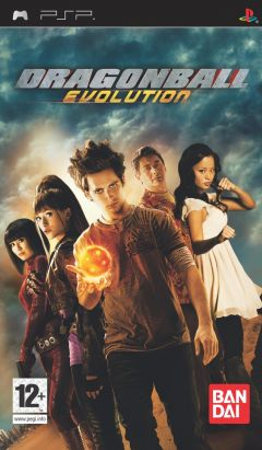 Jaquette de Dragon Ball Evolution PSP