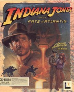 Jaquette de Indiana Jones and the Fate of Atlantis PC