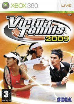 Jaquette de Virtua Tennis 2009 Xbox 360