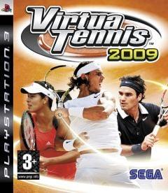 Jaquette de Virtua Tennis 2009 PlayStation 3
