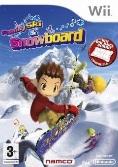 Jaquette de Family Ski & Snowboard Wii