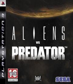 Jaquette de Aliens vs Predator PlayStation 3