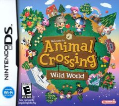 Jaquette de Animal Crossing Wild World DS