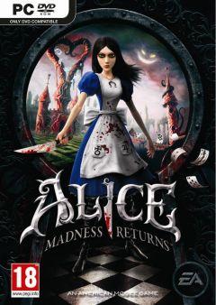 Jaquette de Alice : Retour au Pays de la Folie PC