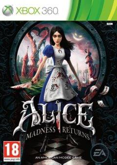 Jaquette de Alice : Retour au Pays de la Folie Xbox 360