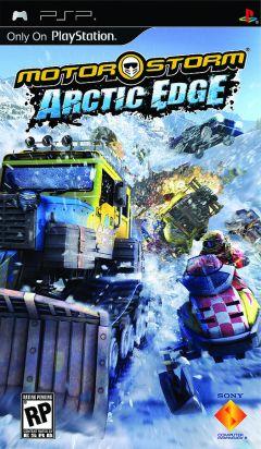 Jaquette de MotorStorm : Arctic Edge PSP