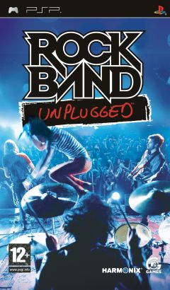 Jaquette de Rock Band Unplugged PSP
