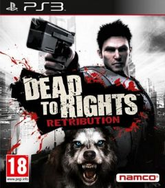 Jaquette de Dead to Rights : Retribution PlayStation 3