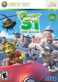 Jaquette de Planet 51 Xbox 360