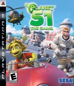 Jaquette de Planet 51 PlayStation 3