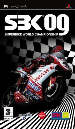 Jaquette de SBK 09 Superbike World Championship PSP