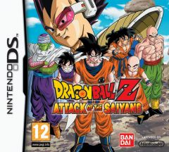 Jaquette de Dragon Ball Z : Attack of the Saiyans DS