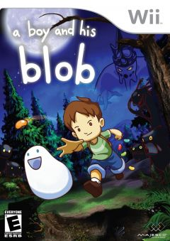 Jaquette de A Boy and his Blob Wii