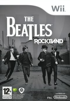 Jaquette de The Beatles : Rock Band Wii