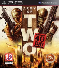 Jaquette de Army of Two : Le 40e Jour PS3