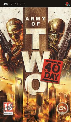Jaquette de Army of Two : Le 40e Jour PSP