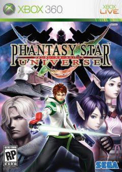 Jaquette de Phantasy Star Universe Xbox 360