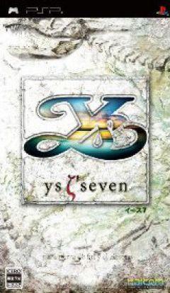 Jaquette de Ys VII PSP