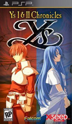 Jaquette de Ys I & II Chronicles PSP