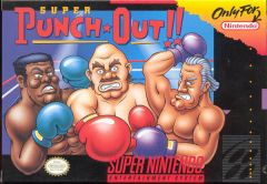 Jaquette de Super Punch-Out !! Super NES