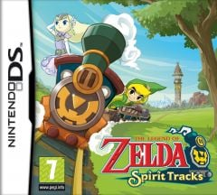Jaquette de The Legend of Zelda : Spirit Tracks DS