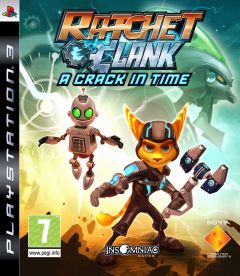 Jaquette de Ratchet & Clank : A Crack in Time PlayStation 3