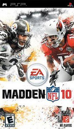 Jaquette de Madden NFL 10 PSP
