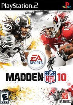 Jaquette de Madden NFL 10 PlayStation 2