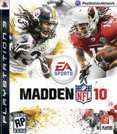 Jaquette de Madden NFL 10 PlayStation 3