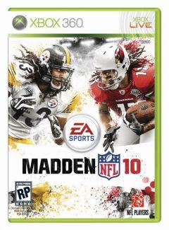 Jaquette de Madden NFL 10 Xbox 360