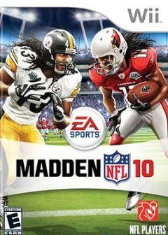 Jaquette de Madden NFL 10 Wii