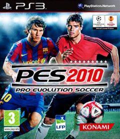 Jaquette de PES 2010 PlayStation 3