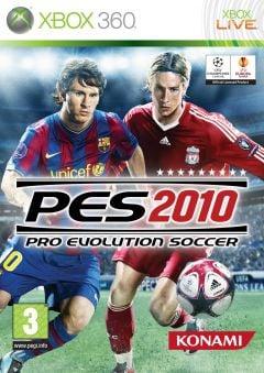 Jaquette de PES 2010 Xbox 360