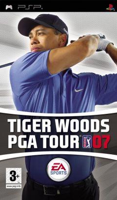 Jaquette de Tiger Woods PGA Tour 07 PSP