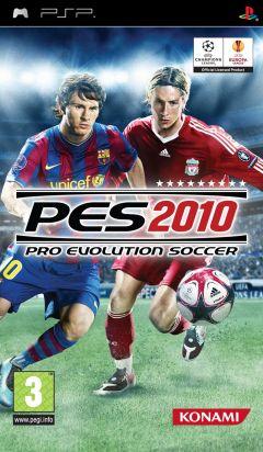 Jaquette de PES 2010 PSP